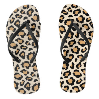 Cheetah Flip-Flops by Elle Rose Flip Flops
