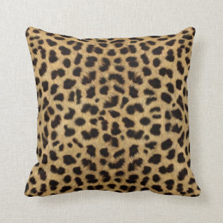 Cheetah Fur Pattern, Cheetah Print Throw Pillow