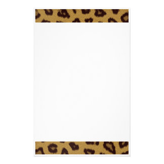 Cheetah Fur Print Stationery