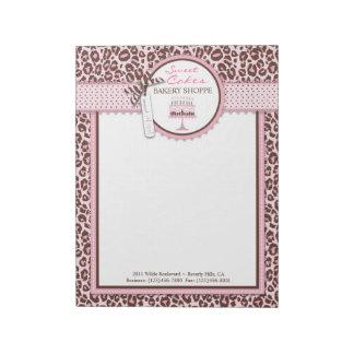 Cheetah Girl Business Notepad