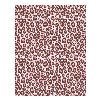 Cheetah Girl Scrapbook Paper Dual-sided CH