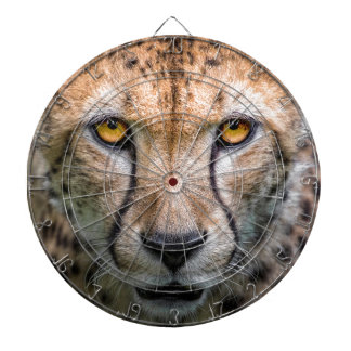 Cheetah Head Dartboard
