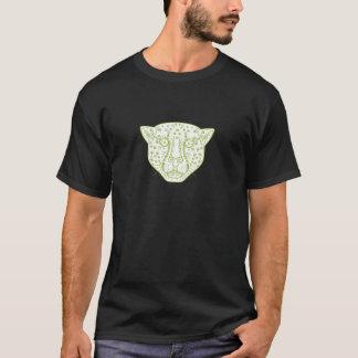 Cheetah Head Mono Line T-Shirt