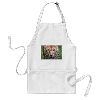 Cheetah Head Standard Apron
