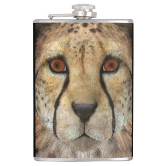 Cheetah Hip Flask
