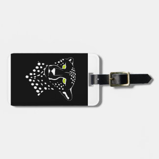 Cheetah Inverted Luggage Tag