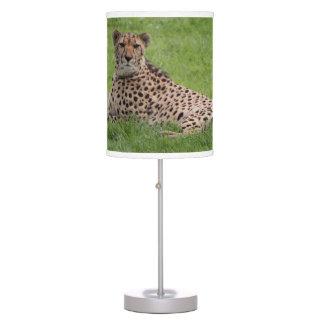 Cheetah lamp