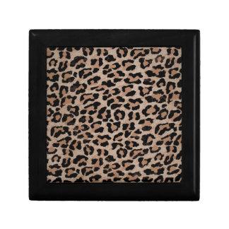 cheetah leopard print keepsake boxes