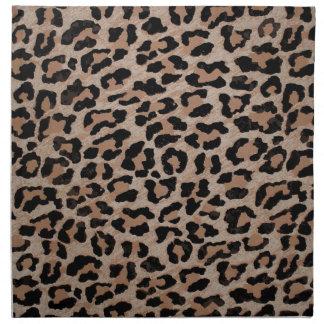 cheetah leopard print napkin