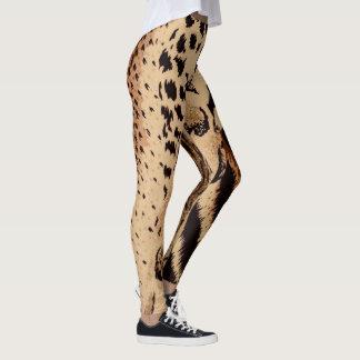 Cheetah Leopard Zebra & Tiger Animal Print Leggings