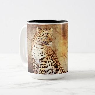 Cheetah-licious Two-Tone Coffee Mug