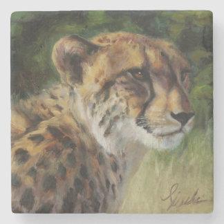 Cheetah Marble Coaster Stone Coaster