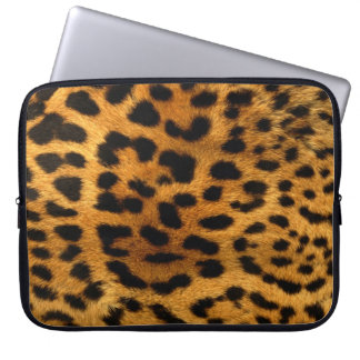 Cheetah Neoprene Laptop Sleeve 15""