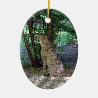 Cheetah Ornament ~ Endangered Species Series