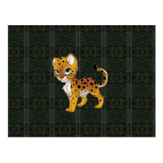Cheetah Paper Products Postcard