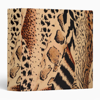Cheetah Pattern Binder