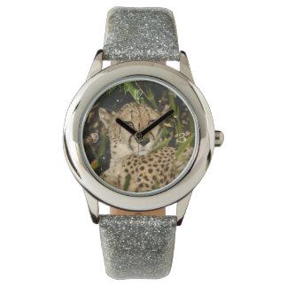 Cheetah photograph watch