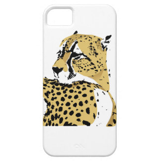 Cheetah Portriat  Iphone case