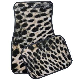 Cheetah Print Car Mats Car Liners