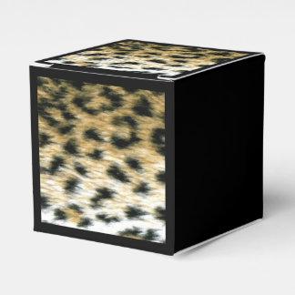 Cheetah Print Favor Box