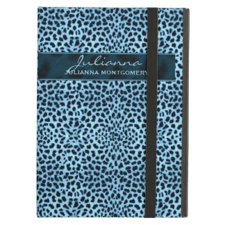 Cheetah Print in Great Blue Hues Case For iPad Air