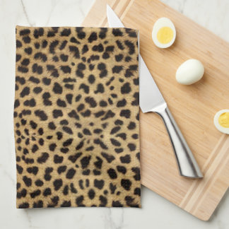 Cheetah Print Kitchen Towel