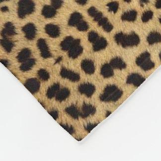 Cheetah Print large Fleece Blanket