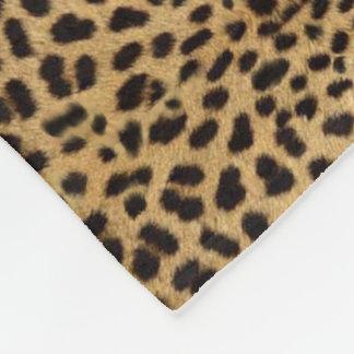 Cheetah Print medium Fleece Blanket