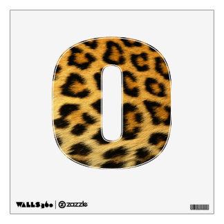 cheetah print wall decal