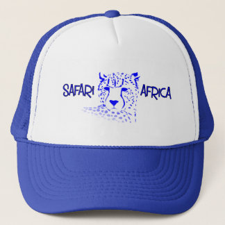 Cheetah Safari Cap