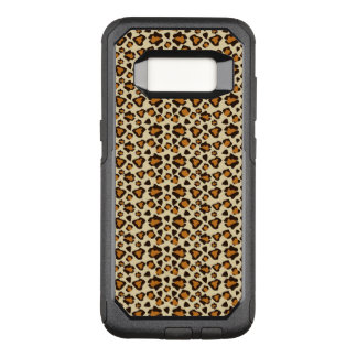 Cheetah skin pattern OtterBox commuter samsung galaxy s8 case