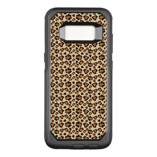 Cheetah skin pattern OtterBox commuter samsung galaxy s8 case