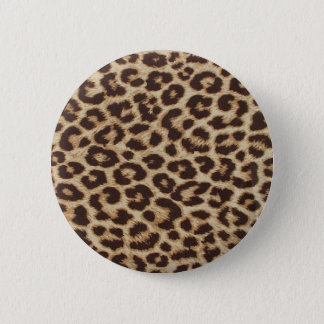 Cheetah Skin Print 2 Inch Round Button