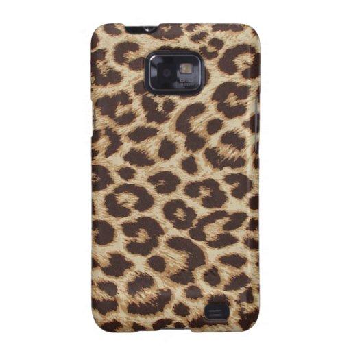Cheetah Skin Print Galaxy SII Cases
