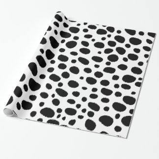 Cheetah Spots In Classic Black And White