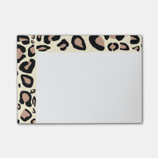Cheetah Spots Post-Its Post-it Notes