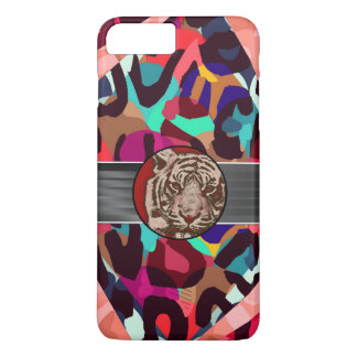 Cheetah Tiger Abstract iPhone 7 Plus Case