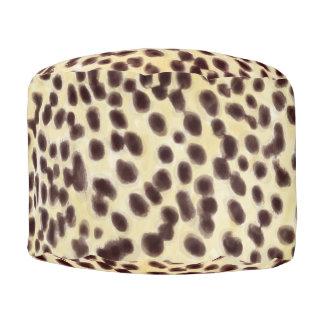 Cheetah Wash Pouf