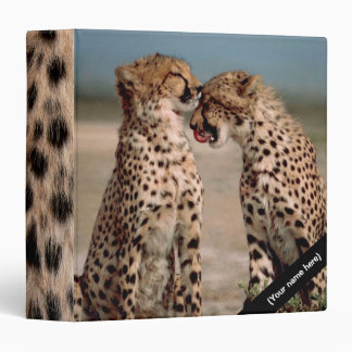 Cheetahs 3 Ring Binder