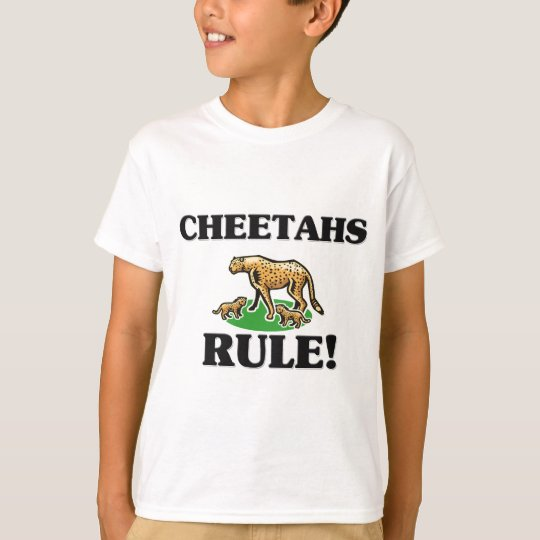 CHEETAHS Rule! T-Shirt