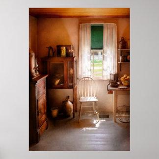 Chef - A cottage kitchen Print