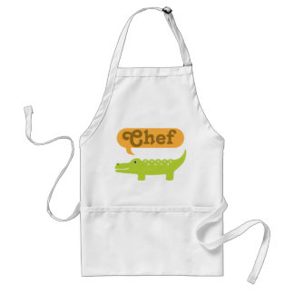 Chef Alligator Cooking Gift Standard Apron