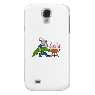Chef Alligator Spatula BBQ Grill Cartoon