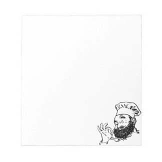 chef approve notepad