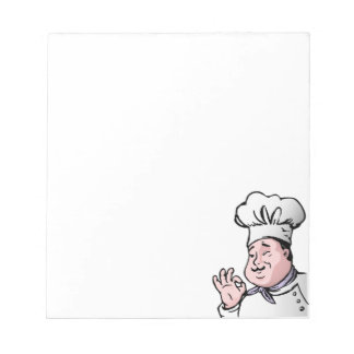 Chef approves notepad