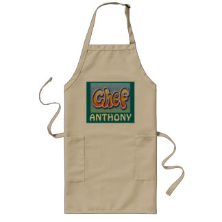 Chef apron-Add own name Long Apron