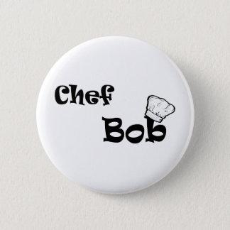 Chef Bob 2 Inch Round Button