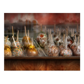 Chef - Caramel apples for sale Postcard