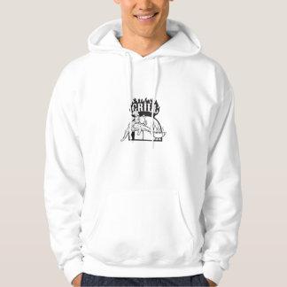 Chef Carry Alligator Grill Cartoon Hoodie