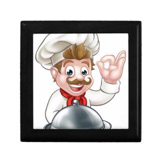 Chef Cartoon Character Gift Box